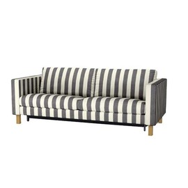 IKEA - striped sofa