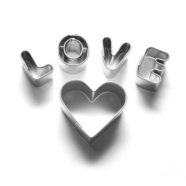 Fine Art America - Love Message And Heart Made Of Chrome Letters Photograph  - Love Message And Heart Made Of Chrome Letters Fine Art Print
