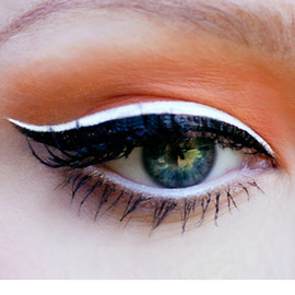 Lime Crime - LUNAR SEA pure white liquid eyeliner