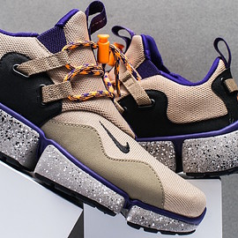 NIKE - Pocket Knife DM - Linen/Black/Khaki/Court Purple