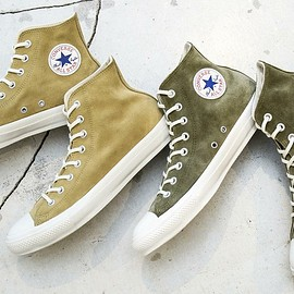 BEAUTY&YOUTH × CONVERSE - SUEDE ALL STAR HI