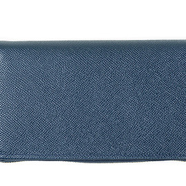 Whitehouse Cox - LOFTMAN別注 Zip Round Wallet-Navy×Newton