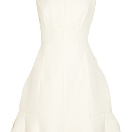 MARC JACOBS - Pleated wool-twill dress