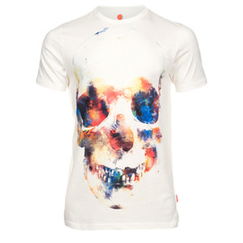 Paul Smith - Off-White Skull Print T-Shirt