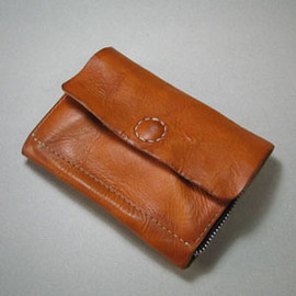 benlly's&job - Leather wallet / wash