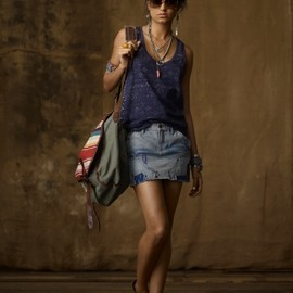 RALPH LAUREN  Denim & Supply - Bandana-Print Scoopneck Tank
