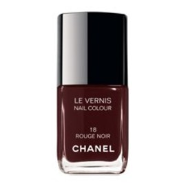 CHANEL - LE VERNIS NAIL COLOUR CHANEL #18 ROUGE NOIR