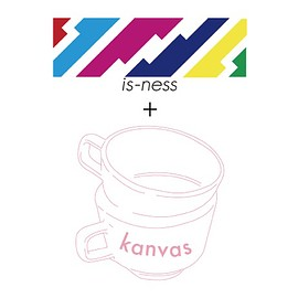 is-ness, kanvas, HASAMI - Trompe-L'oeil-Mug in collaboration with is-ness