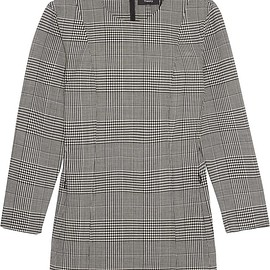 Theory - Laurent Prince of Wales checked stretch-wool top