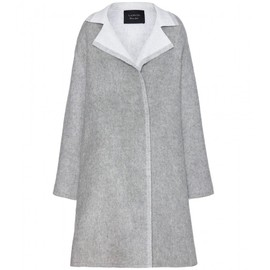LANVIN - Wool and mohair-blend coat