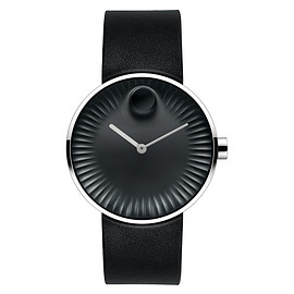 Movado - Edge with black dial by Yves Behar