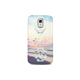 CSERA - BEACH Samsung S5 Case Galaxy S5 Case Tribal Pastel S5 Cover  Available in matte or gloss