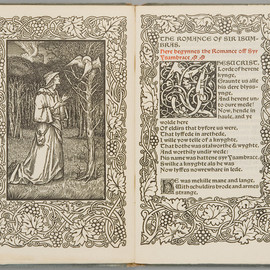 edited by F.S. Ellis - Syr Ysambrace, Kelmscott Press, 1897
