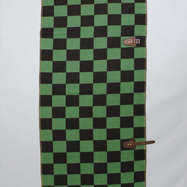 MOUNTAIN RESEARCH - Horse Blanket 1/2 (Checker) | BROWN*GREEN (Horse Blanket Research 029)