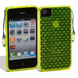 Juicy Couture - Gelli iPhone4/4S ケース (Yellow)
