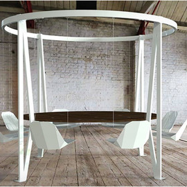Duffy London - THE KING ARTHUR | ROUND SWING TABLE
