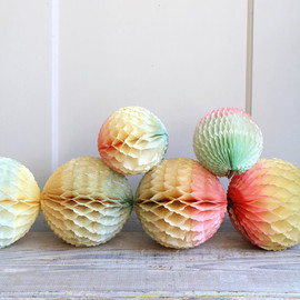 Vintage Crepe Paper Decorations