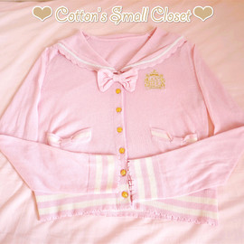 Angelic Pretty - Pink sailor cardigan