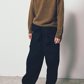 Graphpaper - Yak Shaggy Crew Neck Knit