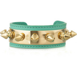 Aurelie Bidermann - Camden studded leather bracelet