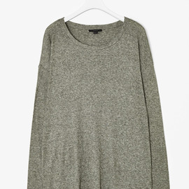 COS - wool-mix jersey top