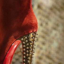 Christian Louboutin - RED & GOLD