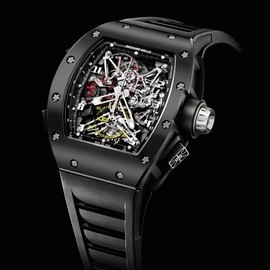 RICHARD MILLE - Tourbillon Split Seconds Competition Chronograph RM050 Felipe Massa 2012 Debut