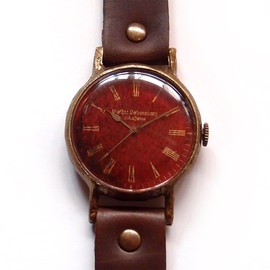 Gothic Laboratory - アンティークな腕時計 Classic Wristwatch blood (L M SS)