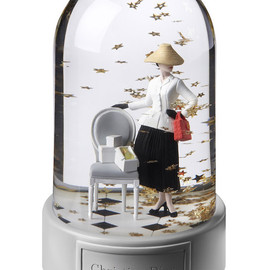 christian dior - snow globe for printemps