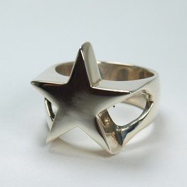 CRAZY PIG DESIGNS - STAR RING