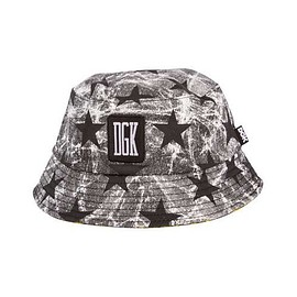 DGK - UNFOLLOW BUCKET HAT (Black/Stars)