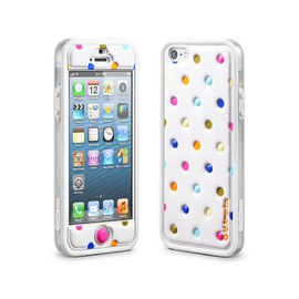 id America - Cushi Plus Dot for iPhone 5 【White】