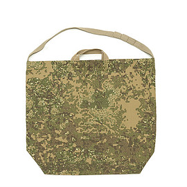 ENGINEERED GARMENTS - Carry-All Tote W/Strap-Camo Nyco Ripstop-Brown