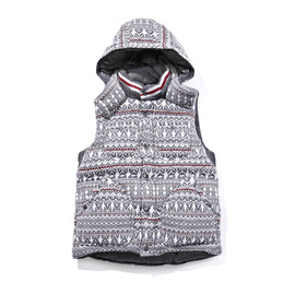 WHITE MOUNTAINEERING - GORE WINDSTOPPER JACQUARD KNIT DOWN VEST