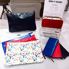 MIHARAYASUHIRO - MIHARAYASUHIRO × 関根正悟 CLUTCH BAG PRICE¥24,000(+TAX)  LONG WALLET PRICE¥26,000(+TAX)