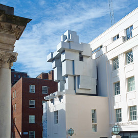 beaumont hotel in london - antony gormley stacks inhabitable sculpture suite at beaumont hotel in london