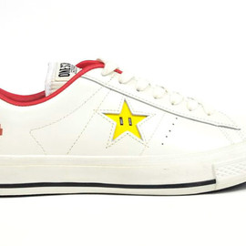 CONVERSE - ONE STAR SUPER MARIO BROS. OX 「LIMITED EDITION for STAR SHOP」
