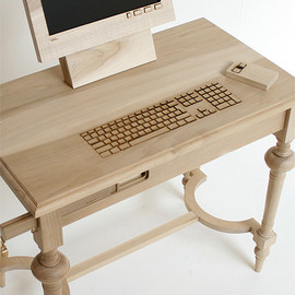 Marlies Romberg - Wodden Workstation
