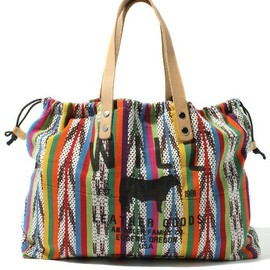 WILL LEATHER GOODS - STRIPE CANVAS TOTE BAG