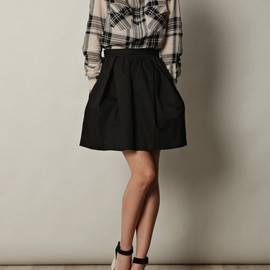CARVEN - cotton skirt
