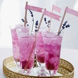 party! - fresh lavender cocktail
