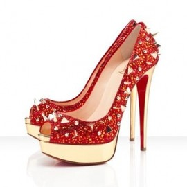 Christian Louboutin - Very Mix crystal spikes