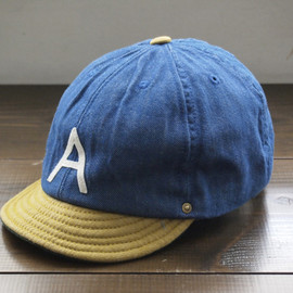 DECHO - BALL BACKLE CAP-A- ♯BLUE