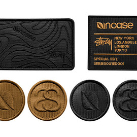 Stussy, incase - Series 001 Collection: Patches