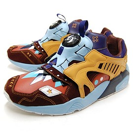 PUMA - DISK TRINOMIC BY OJAGA (Bitter chocolate-Blue ribbon)
