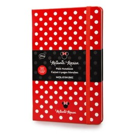 Moleskine - Moleskine Minnie Large Plain Notebook (Moleskine Limited Edition)