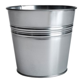 IKEA - SOCKER Plant pot   The plant pot is galvanised to protect against corrosion.