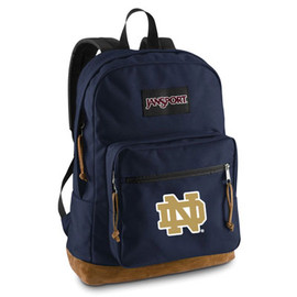 JanSport - Notre Dame Fighting Irish JanSport Embroidered Right Pack Backpack