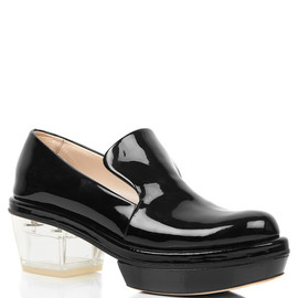 perspex colored brogues AW2012