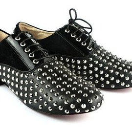 christian louboutin - studs shoes